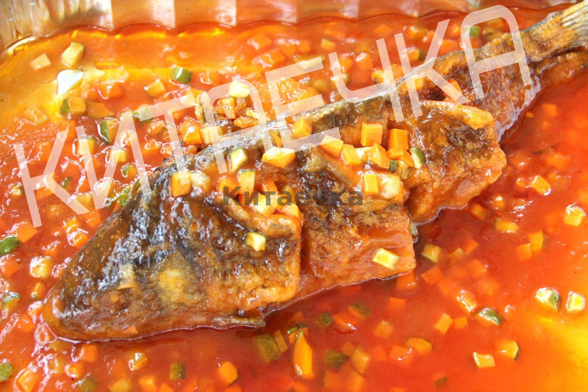 Рецепт сазана по китайски